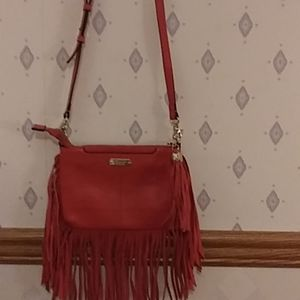 Dolce Vita collection fringed crossbody purse